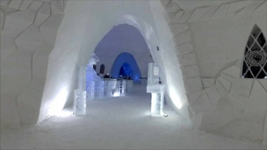 Game of Thrones ice hotel opens in Finland