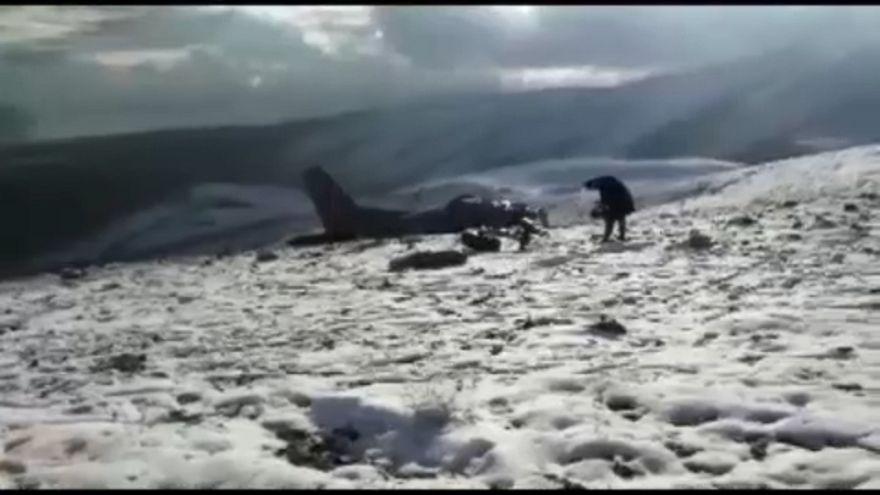 Lezuhant egy katonai repülőgép Törökországban