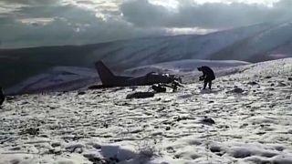 Türkisches Militärflugzeug abgestürzt