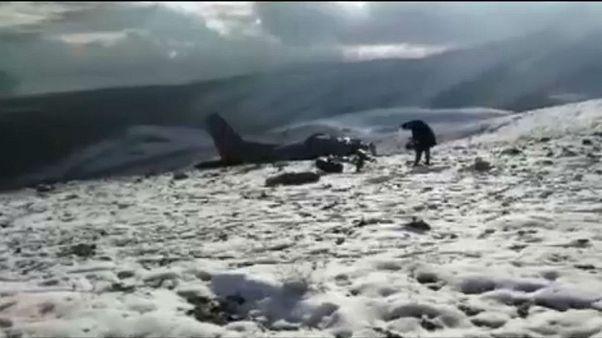 Τουρκία: Συντριβή στρατιωτικού αεροσκάφους με τρεις νεκρούς