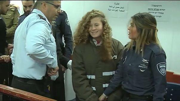 'Filistin'in cesur kızı'nın tutukluluk süresi uzatıldı