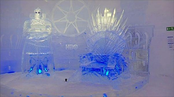 Finlandiya'da 'Game of Thrones' temalı buzdan otel açıldı