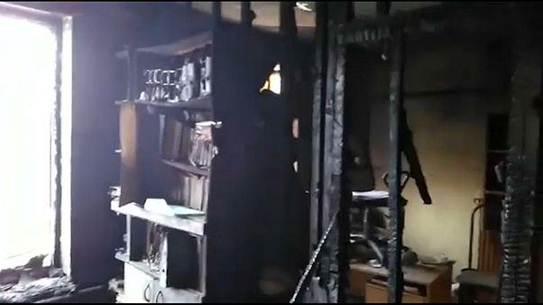 """""""Мемориал"""" подожгли"""