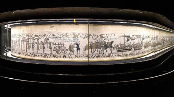 Bayeux tapestry to go to England