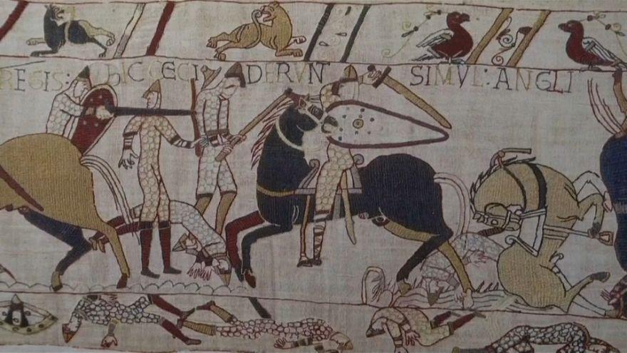 """La """"Tapisserie de Bayeux"""" sera prêtée aux Britanniques"""