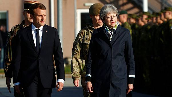 UK and France announce joint military operations ahead of summit