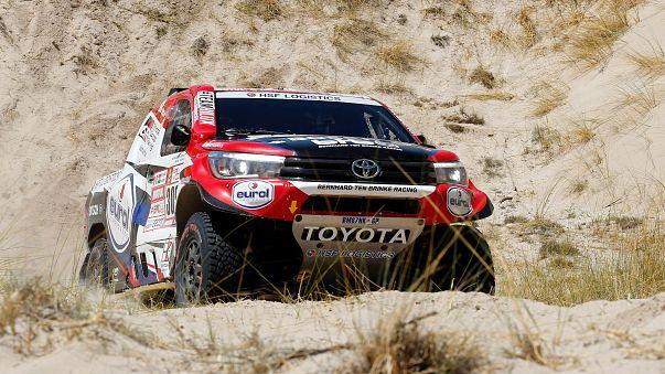 O piloto da Toyota ocupa o quarto lugar da classificação geral