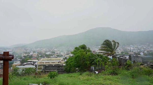 starker Wind auf Mauritius