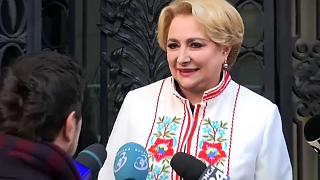 Romania names first female PM