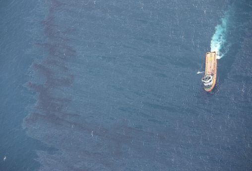 چین: لکه نفتی سانچی به اندازه مساحت پاریس است