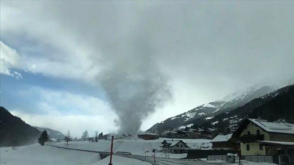 Mini-Tornado in Österreich