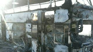 Incêndio em autocarro faz 52 mortos no Cazaquistão