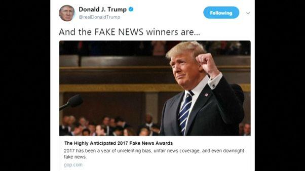 Los premios Fake News 2017 de Trump provocan críticas entre los republicanos