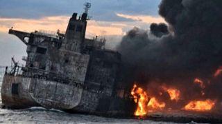 Tovább terjedt az olajfolt a Kelet-kínai-tengeren