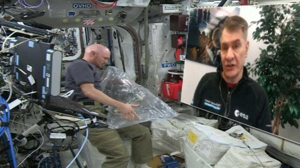 Columbus celebra sus 10 años en el espacio