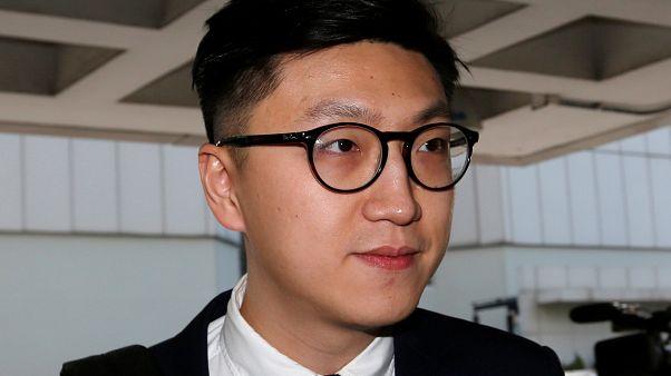 Hongkong: Protestführer muss erneut in Haft