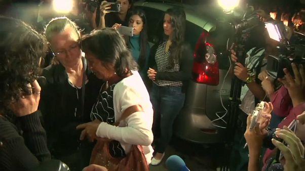 """Аминта Перес: """"отдайте мне тело сына"""""""