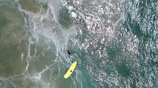 «پهپاد نجات غریق» دو نوجوان استرالیایی را نجات داد
