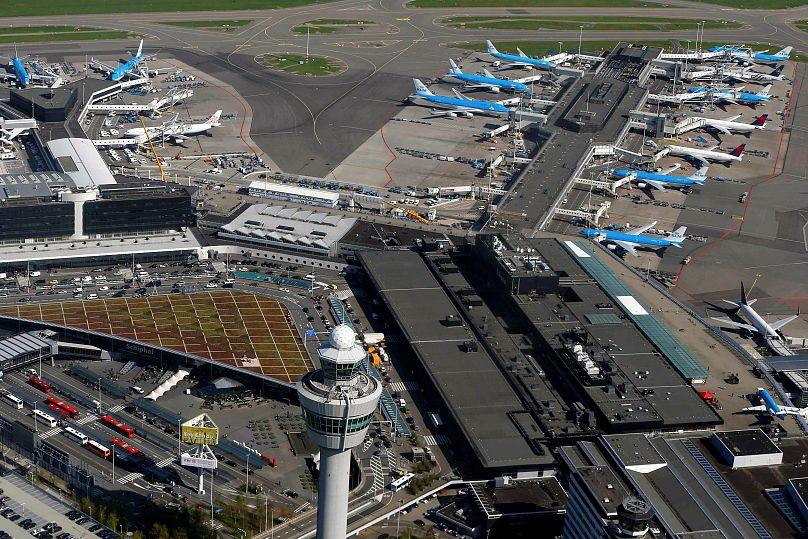Aerei KLM a Schiphol