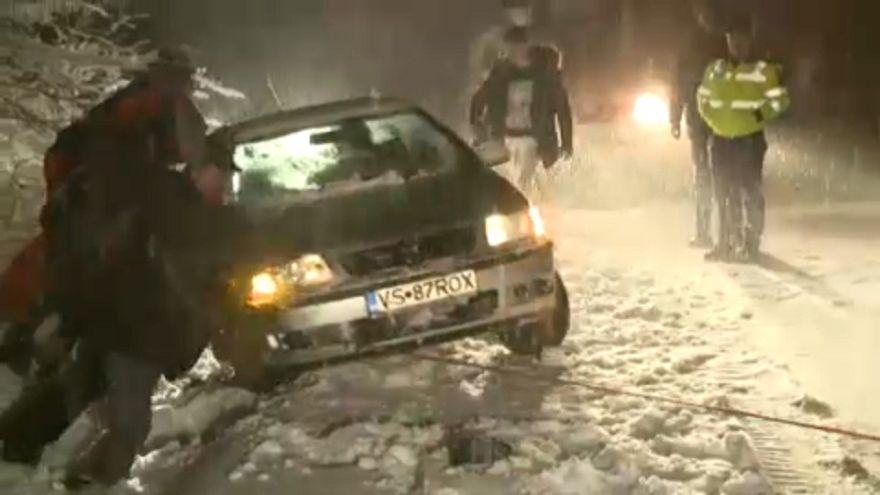 Komoly gondot okoz a havazás Romániában