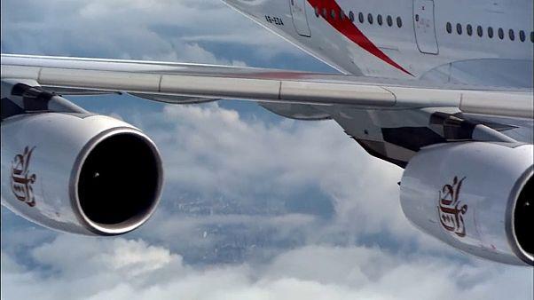 Emirates'ten 20 adet Airbus A380 tipi uçak siparişi