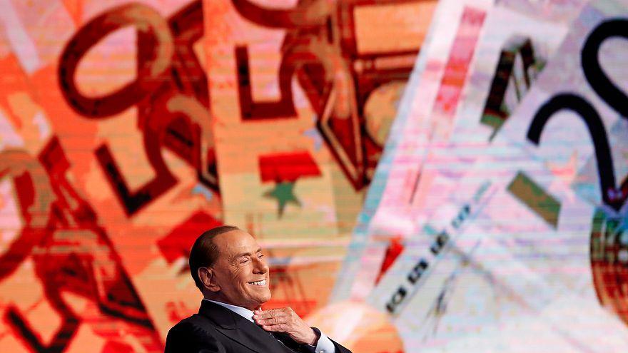 Silvio Berlusconi im Wahlkampf