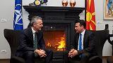 Γενς Στόλτενμπεργκ σε Σκόπια: Λύστε το θέμα της ονομασίας