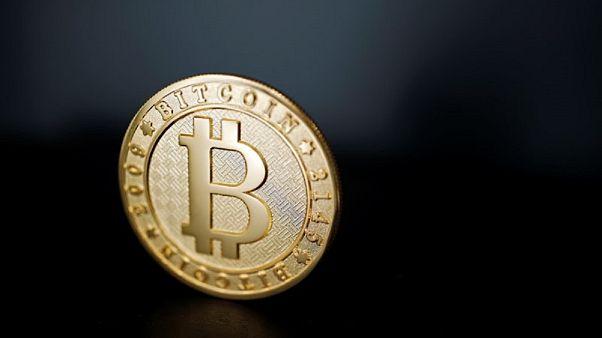 شعار العملة الافتراضية بيتكوين