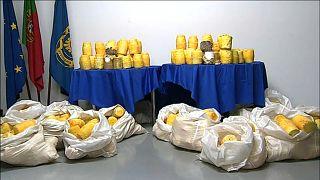 İber Yarımadası'nda uyuşturucu operasyonu: 750 kilo kokain ele geçirildi