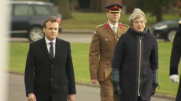Macron a Londra