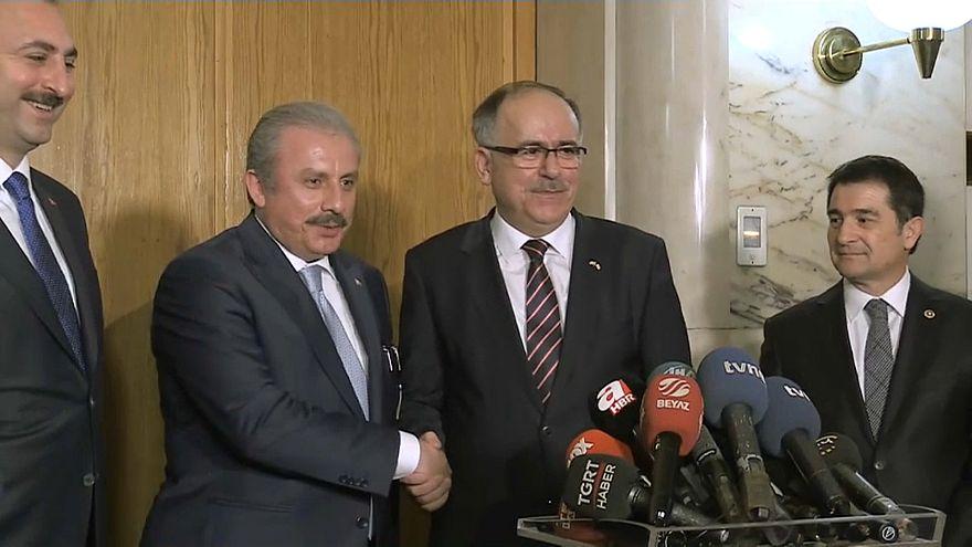 AK Parti-MHP Seçim İttifak Komisyonu ilk kez toplandı