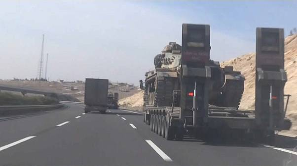 Turkish trucks head to Afrin