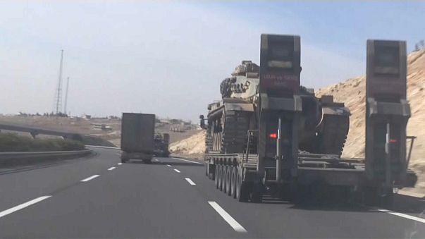Turkish trucks head to Afrin