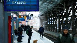 Keine Züge fahren mehr wegen Orkantief Friederike