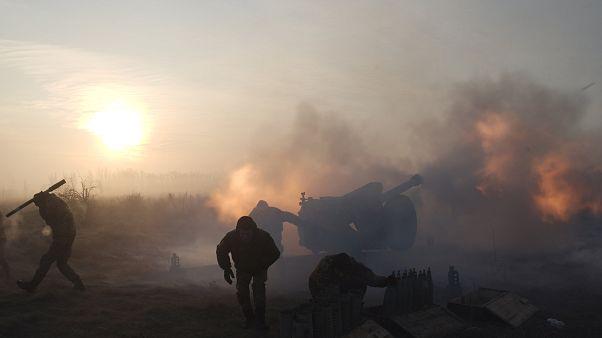 """Pour l'Ukraine, la guerre à l'Est est une """"occupation russe"""""""
