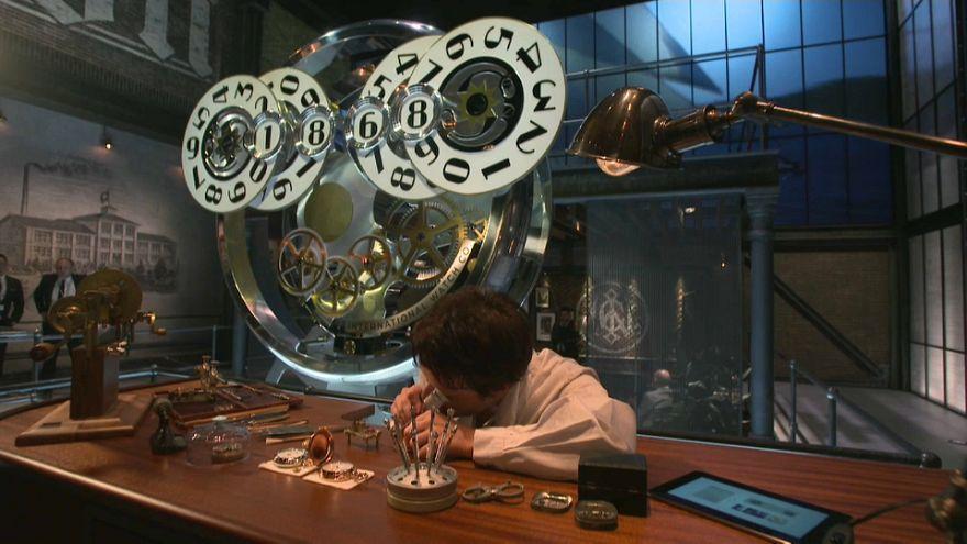 Luxury watch fair in Geneva