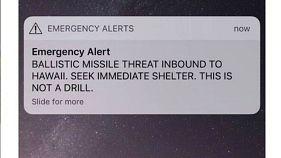 سكان هاواي يلجئون لموقع إباحي للتخفيف من آثار إنذار خاطئ بهجوم صاروخي