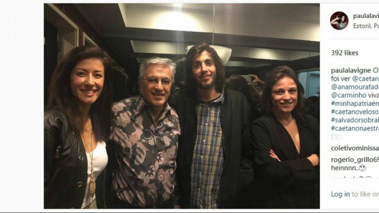 """O encontro: Caetano Veloso toca, Salvador Sobral canta """"Nem Eu"""""""