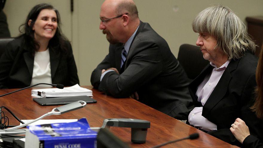 Parents of 13 children held captive in California plead 'not guilty'