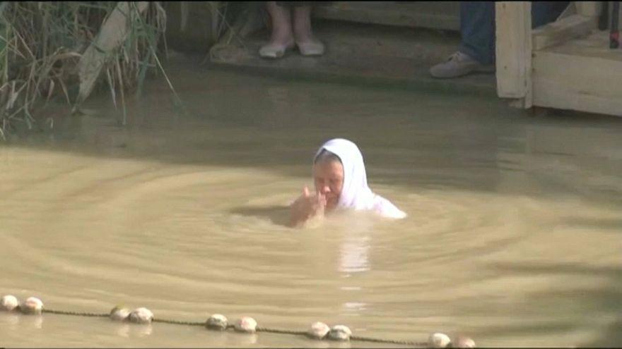 Taufe im Jordan