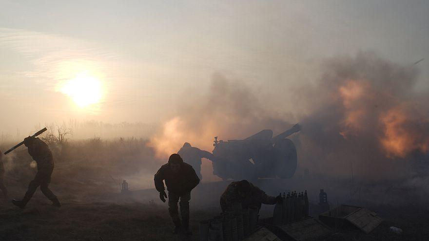 Kämpfe im Osten der Ukraine