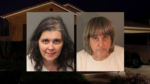 Casa de los horrores en California: primera comparecencia ante la justicia de los acusados