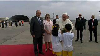 Esküvő a pápa repülőgépén