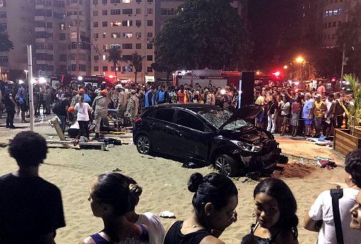 مقتل طفل وجرح خمسة عشر شخصاً في حادث سير في البرازيل