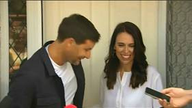 New Zealand PM expecting first child
