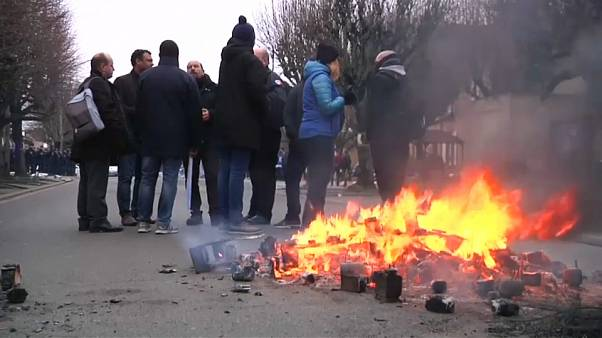 Heurts musclés à Fleury-Mérogis entre gardiens de prison et policiers