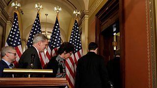 USA: küszöbön a közigazgatás leállítása