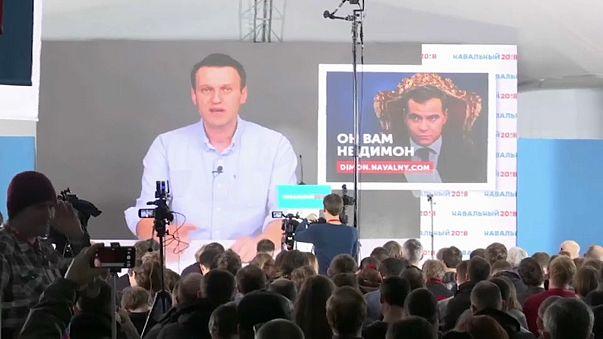 Tribunal Constitucional da Rússia rejeitou queixa de Navalny