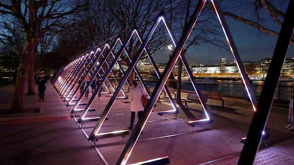 Lumière et poésie à Londres