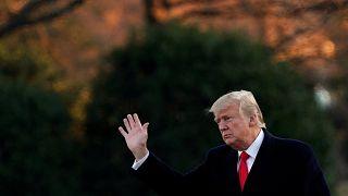 El polémico primer año de Trump en el poder